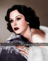 Hedy Lamarr III by M3ment0M0ri