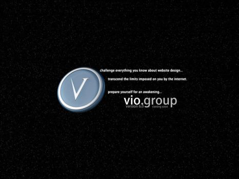 vio.group - coming soon - wall by teknika