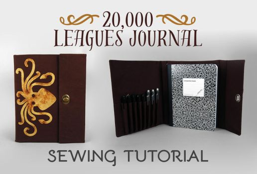 Sewing Tutorial - The 20,000 Leagues Journal by SewDesuNe