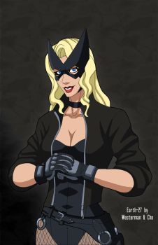 Earth-27's Black Canary (Circa 2000-2003) by Roysovitch
