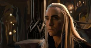 Thranduil by loladrawsthings