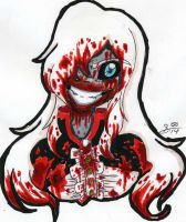 TRADITONAL: The Demon Inside the Doll by InvaderIka