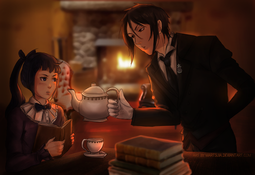 REQUEST - Tea for you? by Martsuia