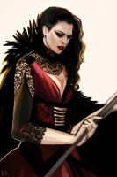 Evil Queen by nastjastark