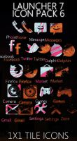 Launcher 7 Icon Pack 6 by DesignsByTopher