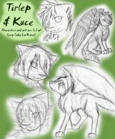 Tirlep and Kuce Dump by Quiell