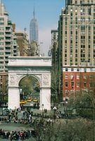 NYC Washington Square Park by SanguineEpitaph