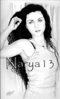 Amy Lee -Curtains- by Narya13