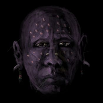 Tribal face by LiamGray