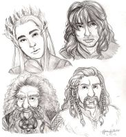 Moar Middle Earth People by naomi-makes-art73