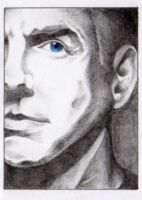Agent Gibbs - NCIS -  ACEO 014 by Arthay