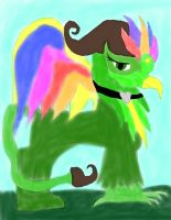 My Oc Are A Griffin For A Day by daylover1313