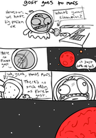 gost goes to mars by scribblespoon