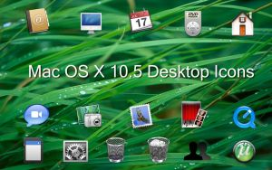 Mac OS X Desktop Icon Set by vistaskinner99