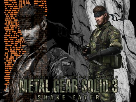 Big Boss Wallpaper - MGS3 by Koei-Warrior
