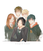 Always and Forever by Beii-ac