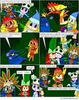 Rayman comic - part 12 by SailorRaybloomDZ