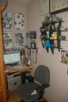 My Workspace pt 2 by crpechonick