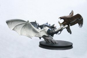 Fell Beast Vs. Eagle Diorama 1 by Minas-Tirith-Hakan