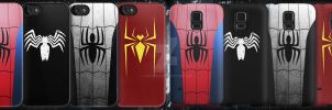 Spider-Man Phone Cases by lumpyhippo