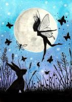 Magical Faery and the Hare by FaerySayles