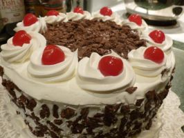 Mom's 50th - Black Forrest 2 by sweet-cakey-delights