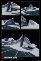 3D Architectural Design by mangamaniac83