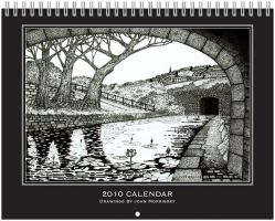 Cover for 2010 calendar by PENANDINKDRAWINGS