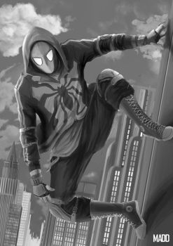 Spider-man -Redesign by conxervation