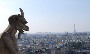 Paris view by chanali