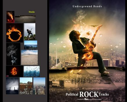 Rock Bands by HOSSAMH