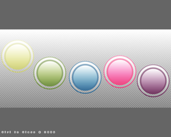 Colored Orbs 2 - Wallpaper by Girl-In-Glass