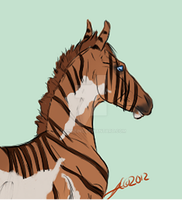 1670 Rippled Scotch by EquineInc