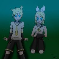Rin and Len 2010 by anvilgurl