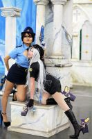 UMBRA POLICEWOMEN Bayonetta and Jeanne by cosplaytendency