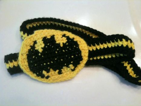 Batman Headband by SweetNerdyCakes