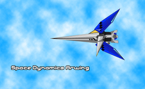 Space Dynamics Arwing by sudro