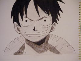 Monkey D. Luffy by Hlqb
