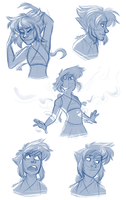 Lapis Sketchdump by JustAutumn