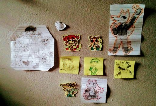 [i have a whole art wall of this game guys] by ArtisticPegisister