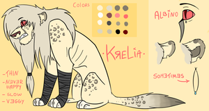 Krelia Reference Sheet by Rattenmutter
