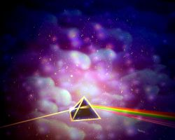 Dark Side of the Moon by rabbitica