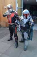 Ant Man and Mandalorian Cosplay by masimage