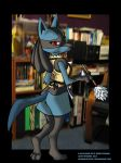 Lucario Maid by Ebonyleopard