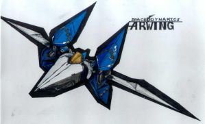 Arwing Colour by Pyrosity