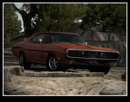 Dodge Charger 4 from GT4 by D4v3yTh3D0rk