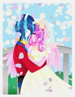 A Beautiful Bride, A Handsome Groom by athe-nya