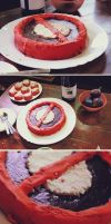 Deadpool cake by Gregory-Welter