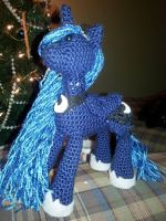 Nighttime Yarn Princess by chipperpony