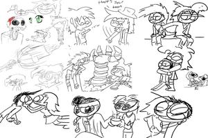 1/3/13 Doodles by ITS-ALL-NTG